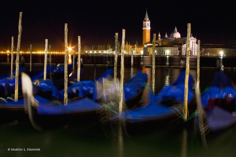 San Giorgio Maggiore at Night, Venice - ID: 11800224 © Martin L. Heavner