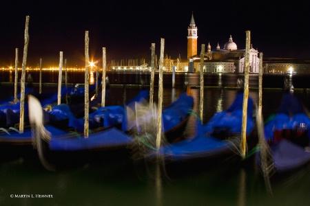 San Giorgio Maggiore at Night, Venice