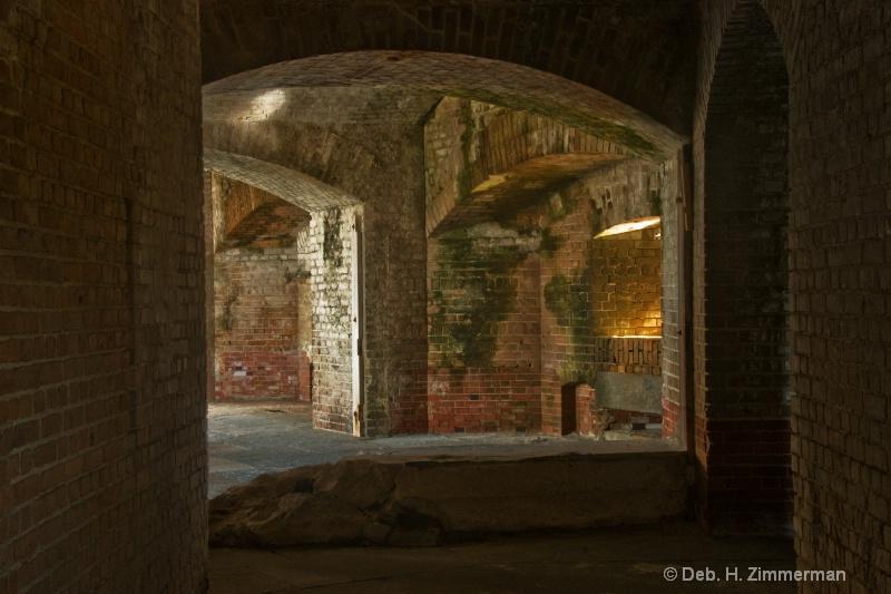 Turning the Corner at Fort Zachary Taylor - ID: 11800666 © Deborah H. Zimmerman