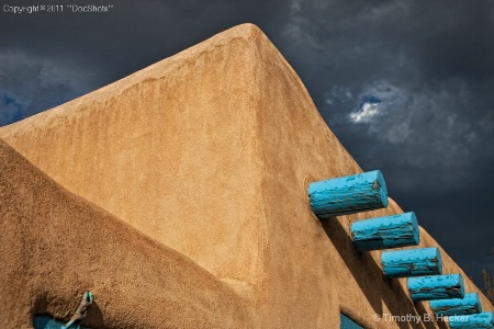 Storm Clouds over Adobe
