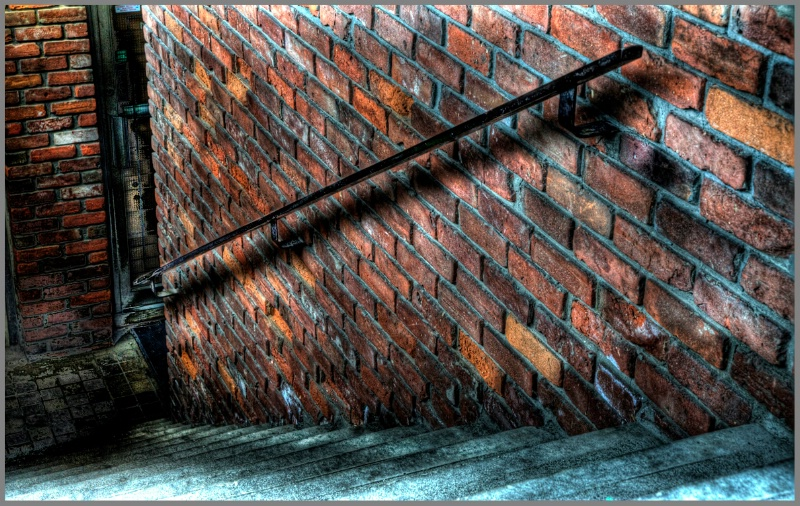 Back Alley Stairwell - ID: 11819894 © Kelly Pape