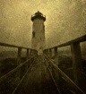 Lighthouse on fog...