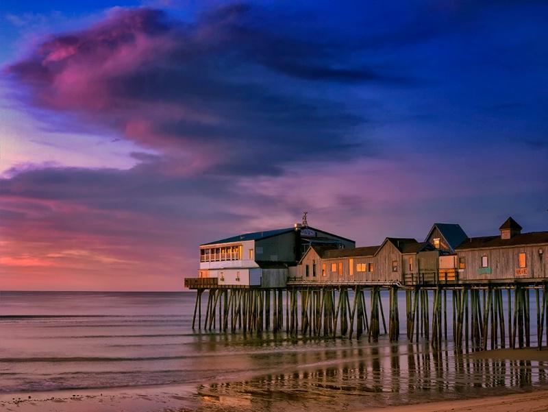 Dawn, Old Orchard Beach