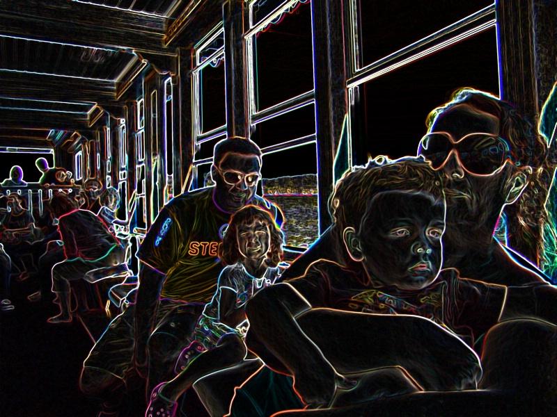 family ride 3914 - ID: 11828145 © John W. Davis