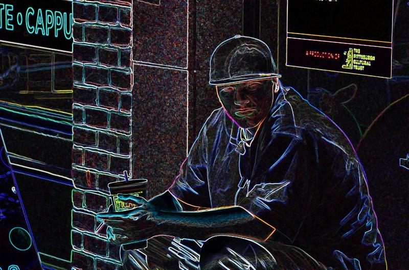 man w hat 3302 - ID: 11828148 © John W. Davis