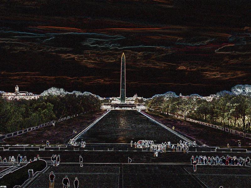 wash monument 1899 - ID: 11828159 © John W. Davis