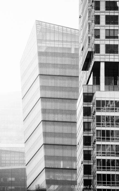 Manhattan Musings: Buildings in Mist