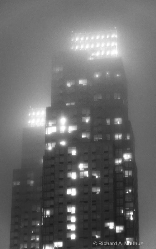 Manhattan Musings:  Night Lites