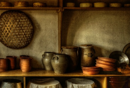 Pantry Plates and Pots