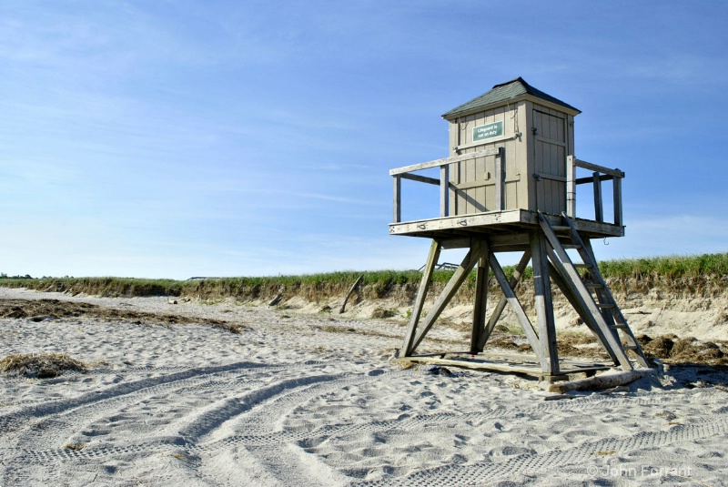 Life guard station (rule of thirds)