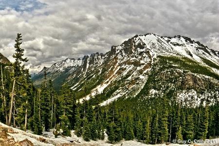North Cascades Kangaroo Ridge