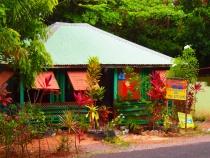 Roadside Restaurant in Dominica