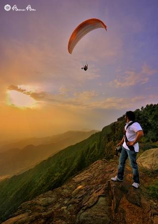 Paragliding ..