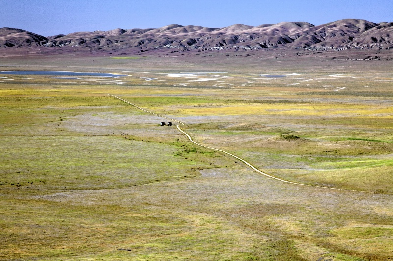 Carrizo Plain and Temblor Range - ID: 11925420 © Craig W. Myers