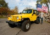 US Flag and Jeep ...