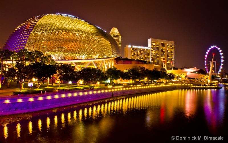 ~ THE DURIAN AND SINGAPORE FLYER ~ - ID: 11927294 © Dominick M. Dimacale