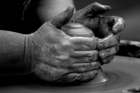 potters hands 2