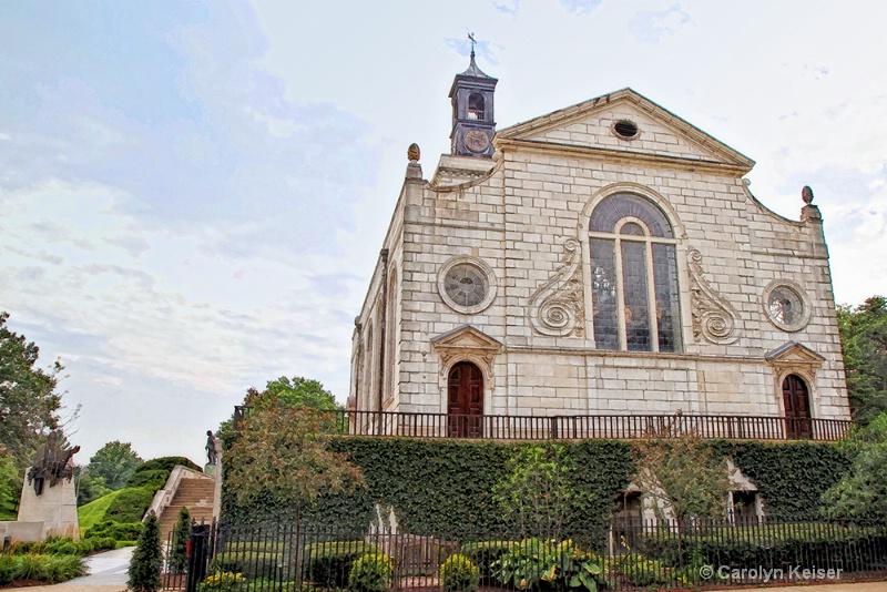 St Mary Virgin Aldermanbury Church, 12th Century - ID: 11948725 © Carolyn Keiser