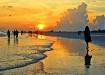 Girl in Sunset II