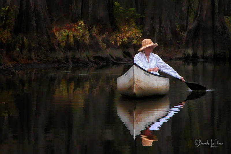 Lady and Canoe Revisited
