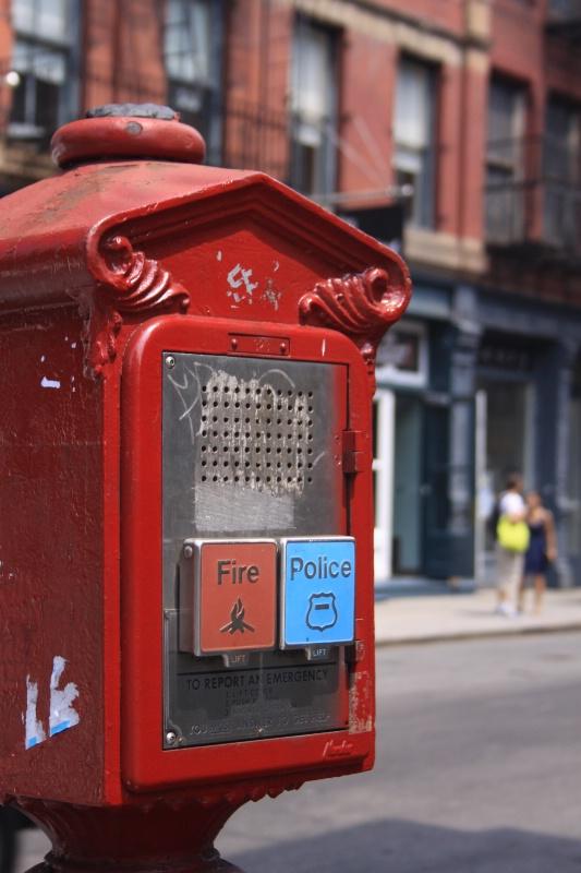 New York call box - ID: 12018172 © ashley nicholas