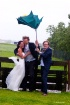 Wedding on a stor...