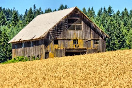 City of Roy Oregon Barn