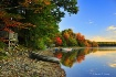 autumn by the lak...