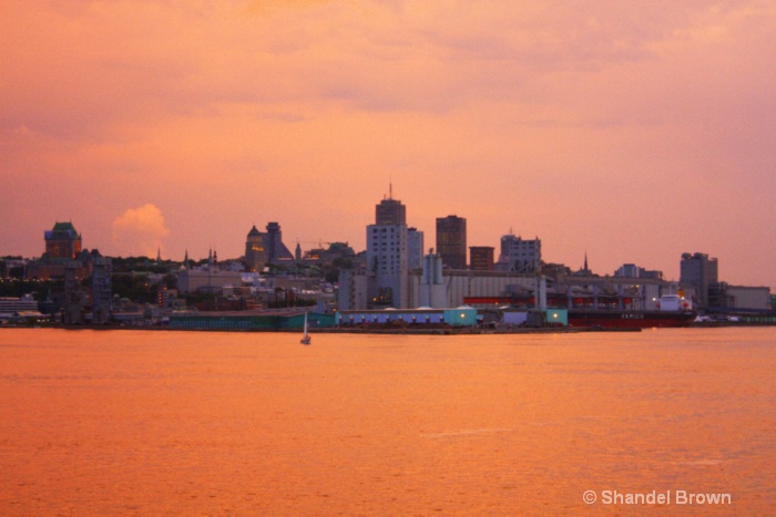 Vieux Quebec at Sunset