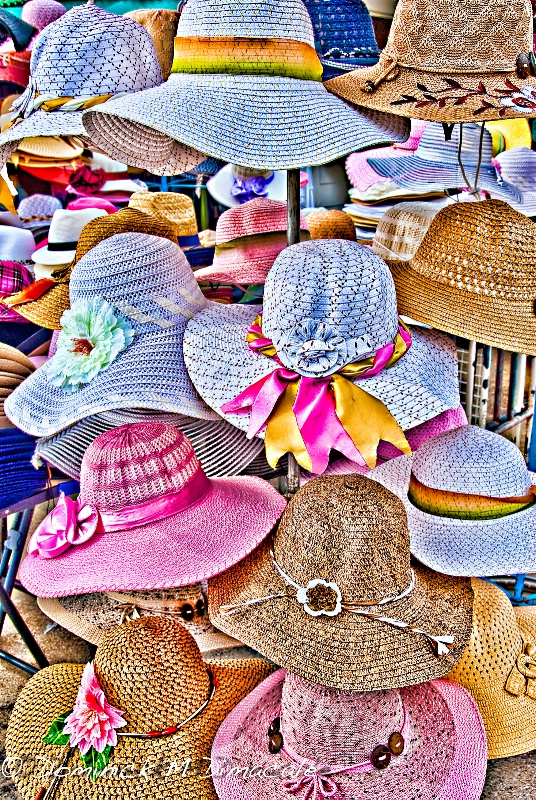 ~ ~ SUMMER HATS ~ ~ - ID: 12094061 © Dominick M. Dimacale