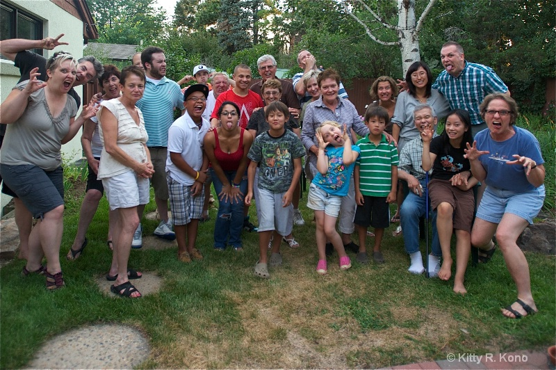 Family Reunion 2 - ID: 12096395 © Kitty R. Kono