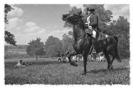 Monmouth Courthouse Reenactment