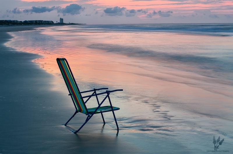 Empty Sunrise at Sunset Beach