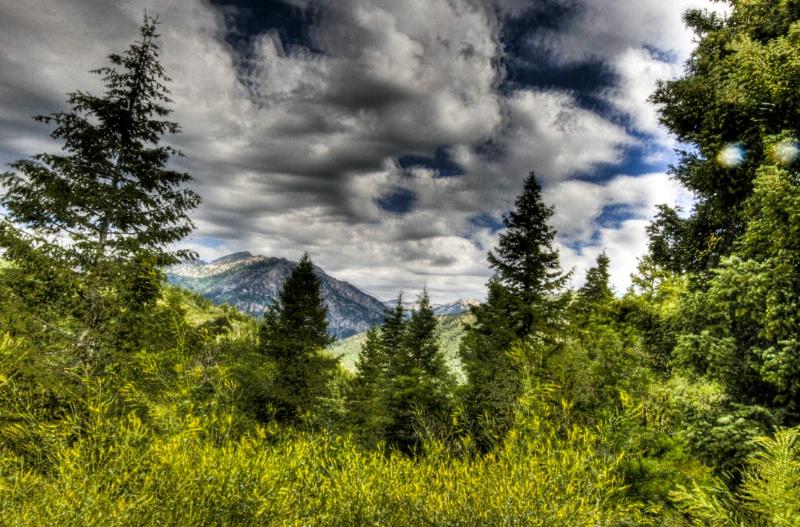 Alpine loop Utah