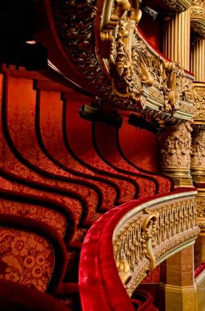 Opera Garnier Balconies, Paris