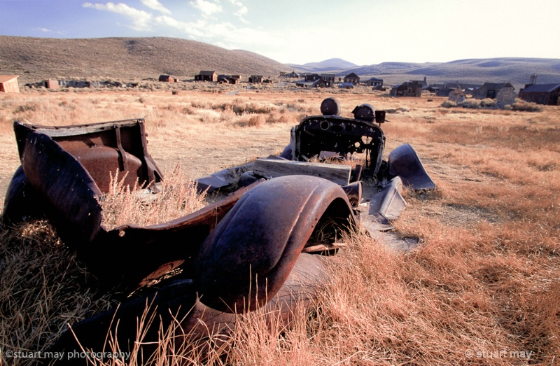 bodie ghost town - ID: 12125043 © Stuart May