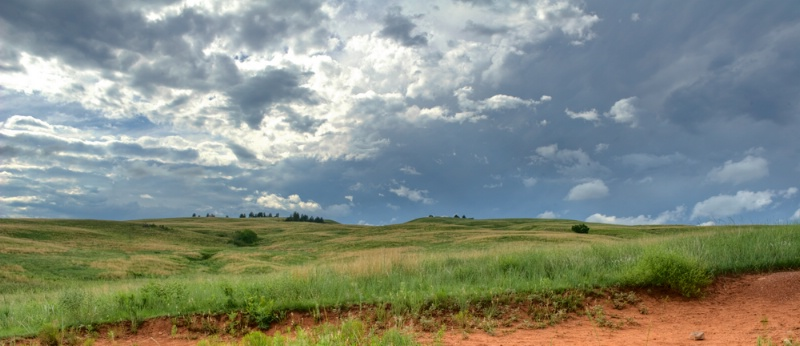 Custer Summer Sky - ID: 12144778 © Lisza M. Coffey