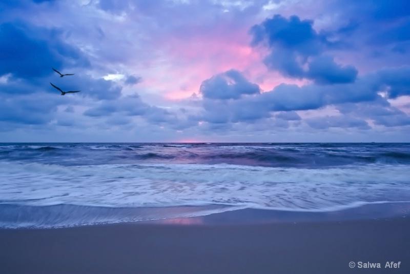 Sunset Mood At De Koog 2