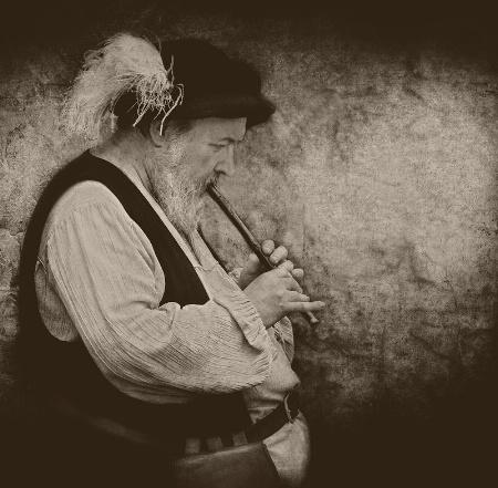 Medieval Flutist