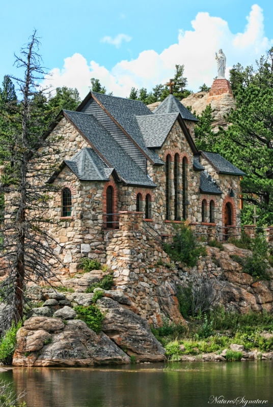 ~ Mountain Church ~ - ID: 12150165 © Trudy L. Smuin