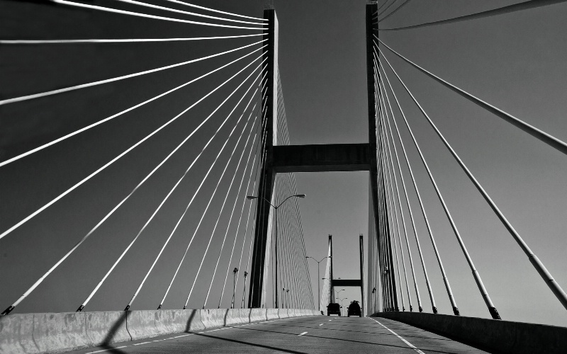 """""""Talmadge Bridge"""" - ID: 12164665 © Kelly Pape"""
