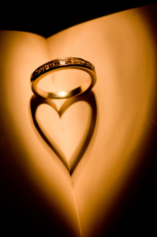 The love that surrounds my ring