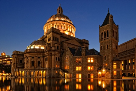 Boston Christian Science Church Park 2