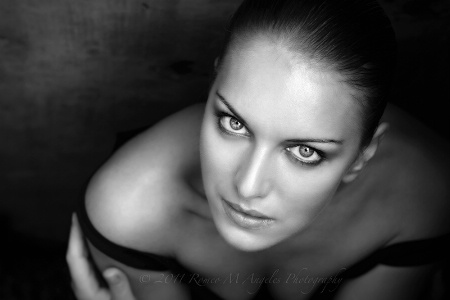The Eyes of Maria (B&W)