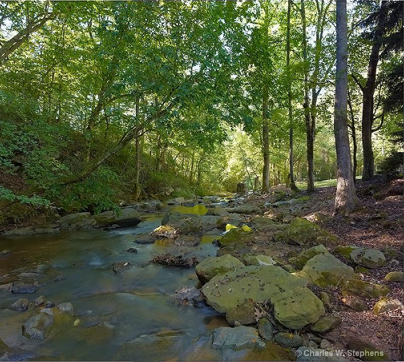 River Morning - ID: 12205025 © Charles W. Stephens