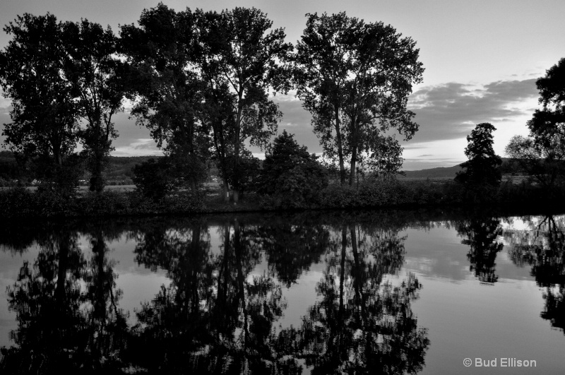 Reflections On The Mosel River