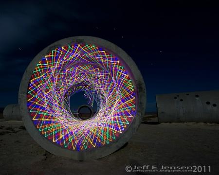 Sun Tunnel Spirograph