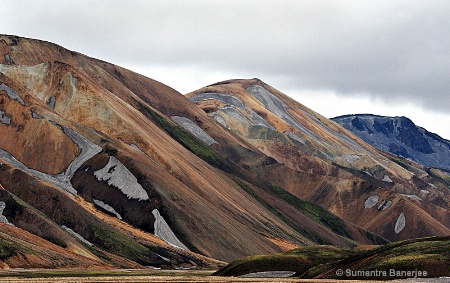 rhyolite mountains  iceland -1
