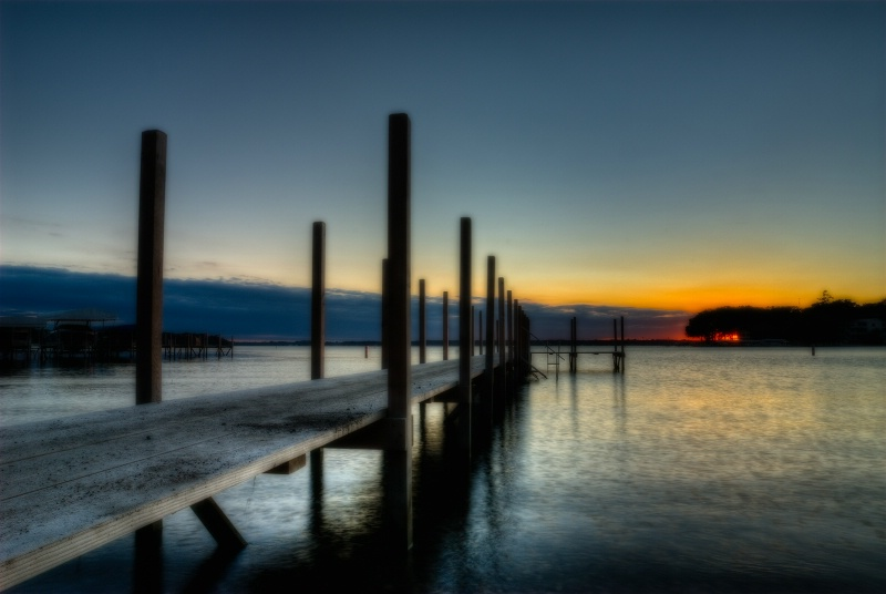 sunset dock - ID: 12232891 © Ronald Balthazor