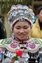 Bride, Yuanyang village in China